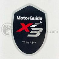 Motor Guide Xi3 70 Decal