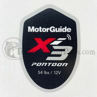 Motor Guide Xi3 54 Decal (Pontoon)