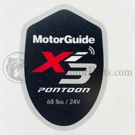 Motor Guide Xi3 68 Decal (Pontoon)