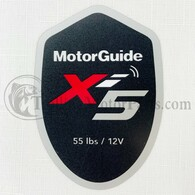 Motor Guide Xi5 55 Decal