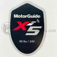 Motor Guide Xi5 80 Decal