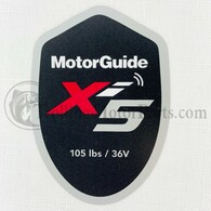 Motor Guide Xi5 105 Decal