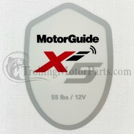 Motor Guide Xi5 55 Decal (Saltwater)