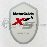 Motor Guide Xi5 80 Decal (Saltwater)