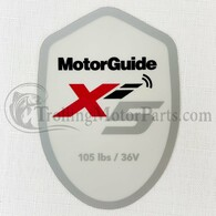 Motor Guide Xi5 105 Decal (Saltwater)