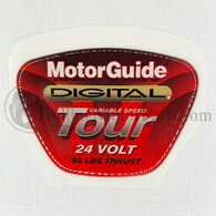 Motor Guide Tour 82 Decal