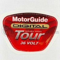 Motor Guide Tour 109 Decal