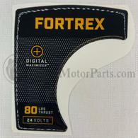 Minn Kota Fortrex 80 Decal (New Style)