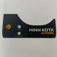 Minn Kota Ulterra Control Panel Decal