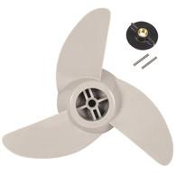 Motor Guide Three-Blade Machete 3 Prop Kit (White)