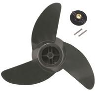 Motor Guide Three-Blade Machete 3 Prop Kit (Gray)
