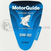Motor Guide Saltwater 82 Decal (SW-82)