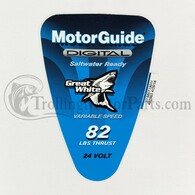 Motor Guide Saltwater 82 Decal (Digital) (Hand-Op)