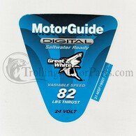 Motor Guide Saltwater 82 Decal (Digital) (Foot-Op)