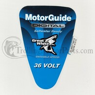 Motor Guide Saltwater 109 Decal (Digital) (Hand-Op)