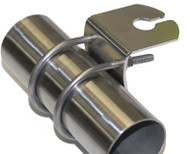 Vertical Bull Bar Bracket (Nickle Plated Steel)