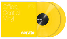 "12"" Serato SC Control Vinyl YELLOW (pair)"