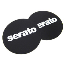 "12"" Serato 'Butter Rug' Slipmats BLACK  (pair)"