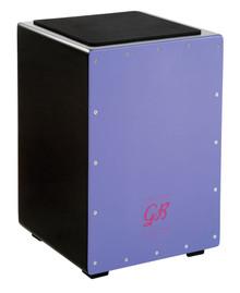 Gon Bops Fiesta Ultra Violet Cajon w/ internal snare - Thai