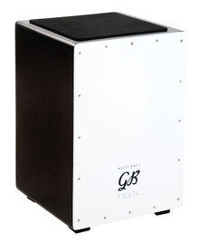 Gon Bops Fiesta White Magic Cajon w/ internal snare - Thai