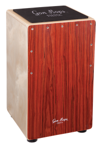 Gon Bops Fiesta Cajon Mahogany - w/ backpack bag