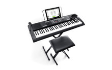 Alesis Melody MK2 61-Key Keyboard with Speakers + Accessory Pack