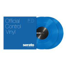 "10"" Control Vinyl Standard Colours - Blue (Pair)"