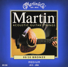 3 Sets of Martin Medium, 80/20 13-56 (3 PK)