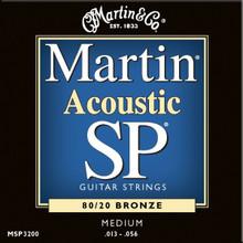 3 Sets of Martin SP, Medium, 80/20 13-56 (3 PK)