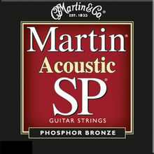 3 Sets of Martin SP, Nashville Style High Tuning, 92/8 10-25 (3 PK)