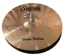 "Soultone Custom Brilliant 14"" Hi Hats (Pair)"