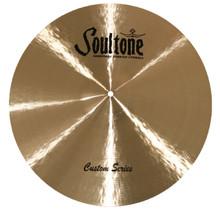 """Soultone Custom 21"""" Crash Cymbal"""