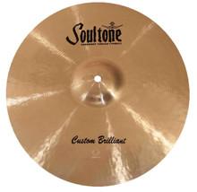"Soultone Custom Brilliant 21"" Crash Cymbal"
