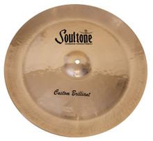 "Soultone Custom Brilliant 17"" China Cymbal"