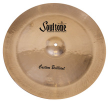 "Soultone Custom Brilliant 22"" China Cymbal"