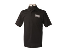 PRS Guitars: Black PRS Polo Shirt, Large