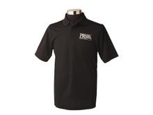 PRS Guitars: Black PRS Polo Shirt, Extra Large