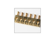 PRS Guitars: Tremolo Saddles, Set of 6, Gold
