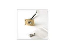 PRS Guitars: Output Jack Assembly, Gold