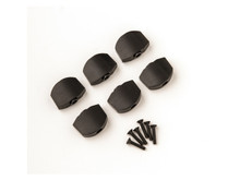 PRS Guitars: Ph III Tuner Buttons, Ebony, 6pk