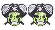 Jolly Roger Skull Pirate Tennis Dampener
