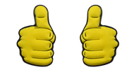 Thumbs Up Tennis Dampener