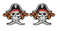 Pirate Captain 2-Sided Tennis Dampener