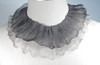 Silver with Charcoal top layer and White bottom layer