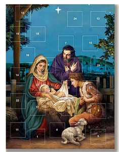 O Holy Night Nativity of Christ Christmas Advent Calendar