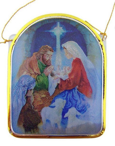 A Child is Born Nativity of Christ Christmas Ornament