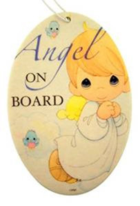 Sweet Scentiments Angel on Board Air Freshener for Boy, Citrus Sage