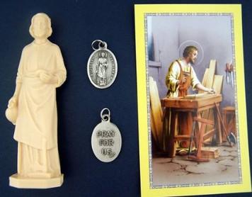 St Joseph Home Seller Kit with Saint Medal