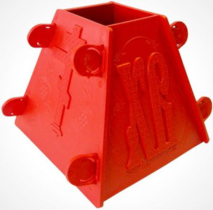 Cheese Mold Red Russian Plastic NEW Pasochnitsa Pascha Easter Xb