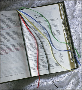 Hymnal Ribbon Bookmark